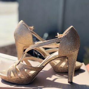Style & Co Shoes - Gold Platform Heels